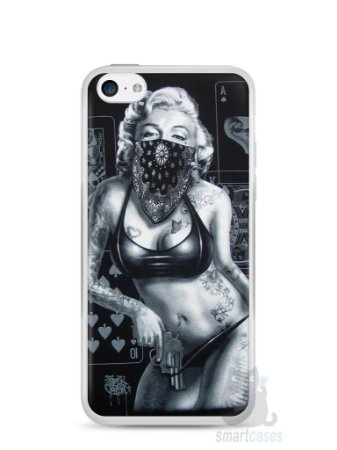 Capa Iphone 5C Marilyn Monroe #3