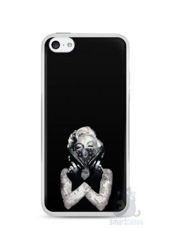 Capa Iphone 5C Marilyn Monroe #5
