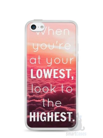 Capa Iphone 5C Frase #1