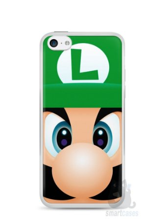 Capa Iphone 5C Luigi Irmão do Super Mario