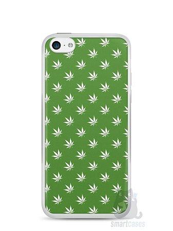 Capa Iphone 5C Maconha #2