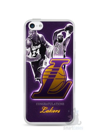 Capa Iphone 5C Lakers