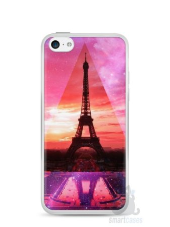 Capa Iphone 5C Torre Eiffel #2