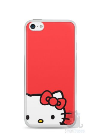 Capa Iphone 5C Hello Kitty