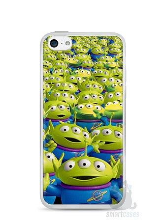 Capa Iphone 5C Aliens Toy Story #2