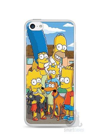 Capa Iphone 5C Família Simpsons #1