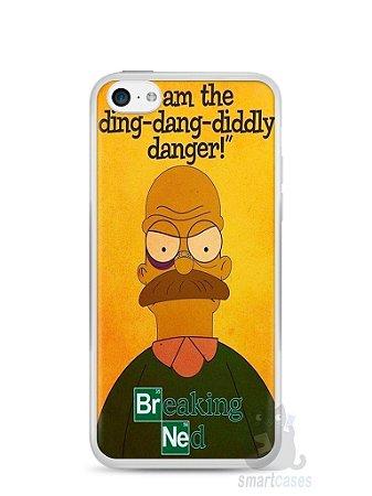 Capa Iphone 5C Homer Simpson Breaking Bad