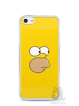 Capa Iphone 5C Homer Simpson Face