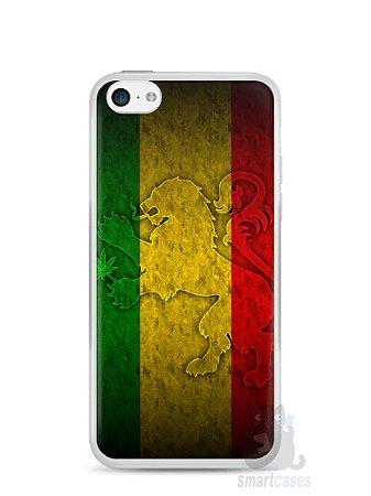 Capa Iphone 5C Rasta Weed #1