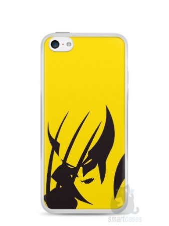 Capa Iphone 5C Wolverine