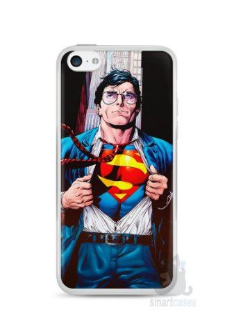 Capa Iphone 5C Super Homem #1