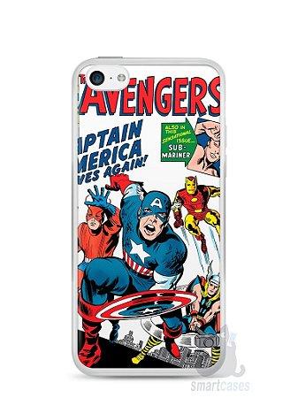 Capa Iphone 5C The Avengers
