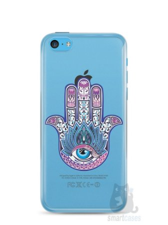 Capa Iphone 5C Mão de Hamsá #1