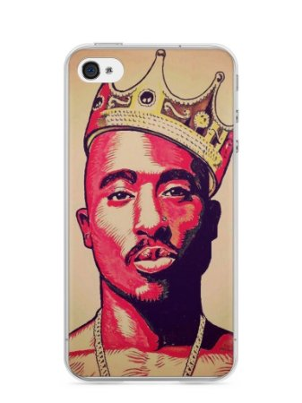 Capa Iphone 4/S Tupac Shakur #1