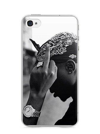 Capa Iphone 4/S Tupac Shakur #2