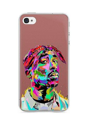 Capa Iphone 4/S Tupac Shakur #4