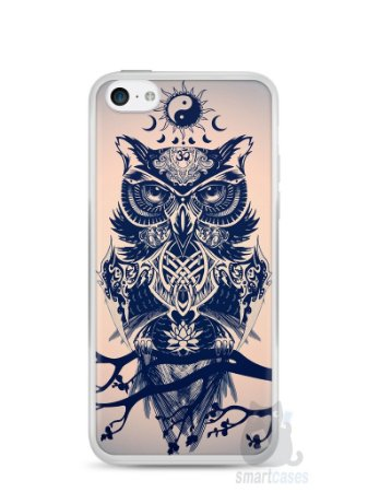 Capa Iphone 5C Coruja #5