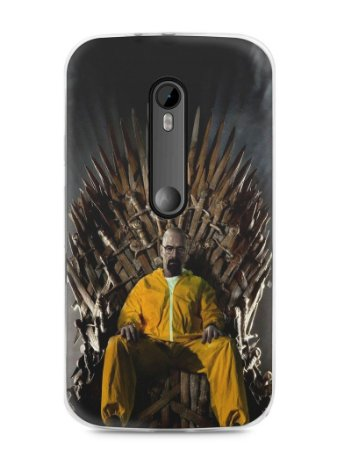 Capa Moto G3 Heisenberg Game Of Thrones