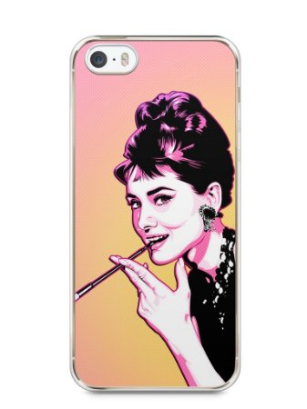 Capa Iphone 5/S Audrey Hepburn #2