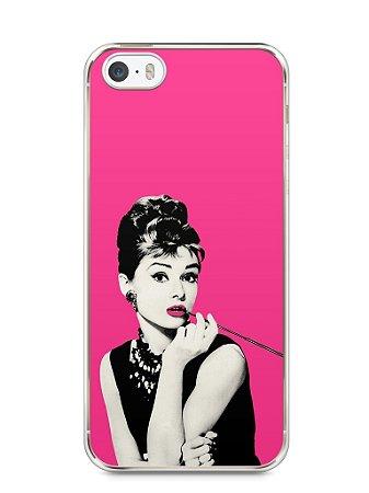 Capa Iphone 5/S Audrey Hepburn #4