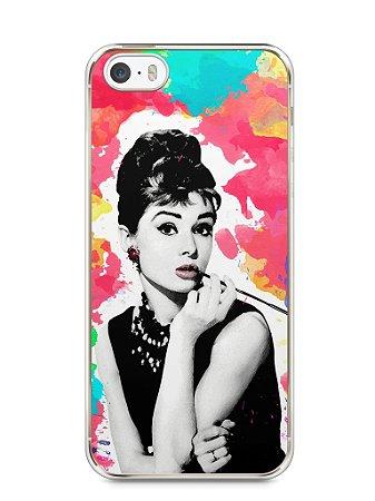 Capa Iphone 5/S Audrey Hepburn #5