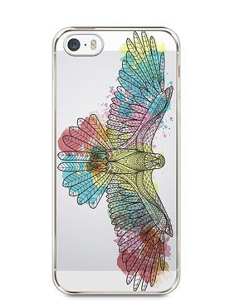Capa Iphone 5/S Águia Colorida