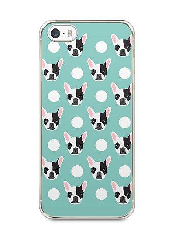 Capa Iphone 5/S Cachorros Bulldog Francês