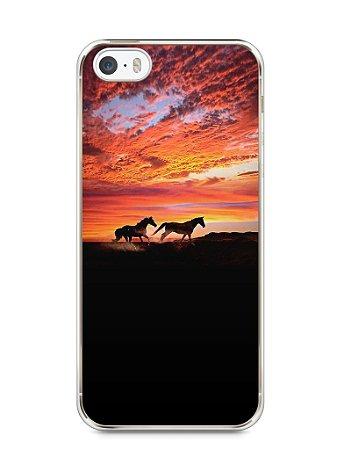 Capa Iphone 5/S Cavalos #1