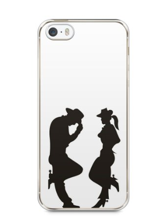 Capa Iphone 5/S Cowboy e Cowgirl