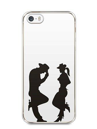 Capa Iphone 5/S Cowboy e Cowgirl