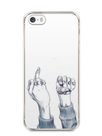 Capa Iphone 5/S Fuck You
