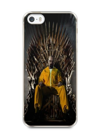 Capa Iphone 5/S Heisenberg Game Of Thrones