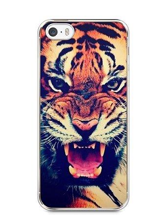 Capa Iphone 5/S Tigre Feroz