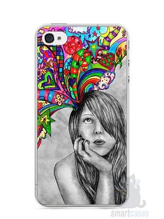 Capa Iphone 4/S Menina Sonhadora