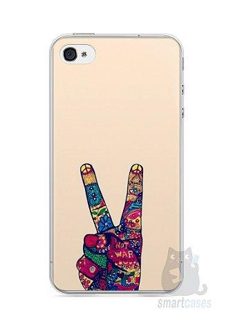 Capa Iphone 4/S Paz e Amor
