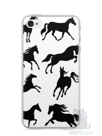 Capa Iphone 4/S Cavalos #2
