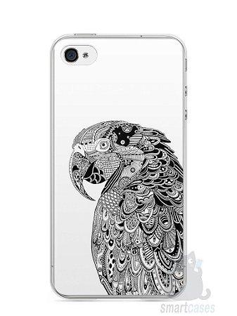 Capa Iphone 4/S Arara Artística