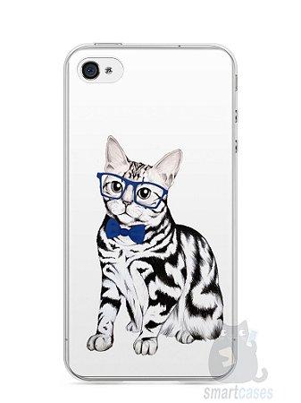 Capa Iphone 4/S Gato Estiloso