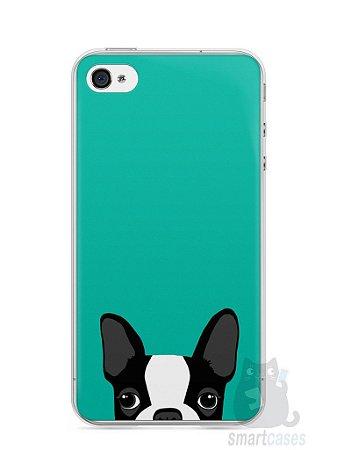 Capa Iphone 4/S Cachorro Bulldog Francês #3
