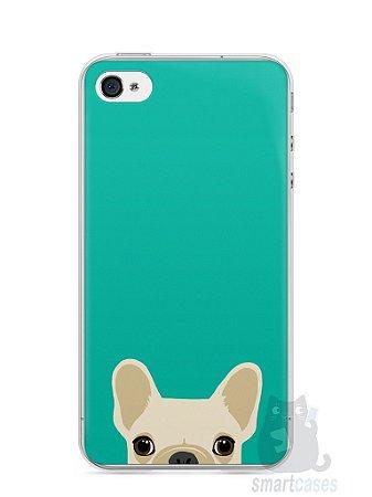 Capa Iphone 4/S Cachorro Bulldog Francês #2