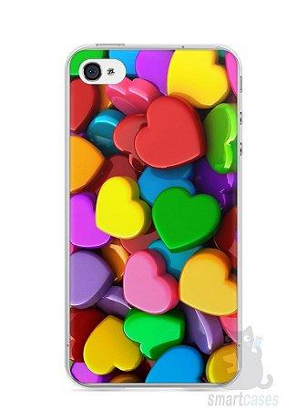 Capa Iphone 4/S Corações