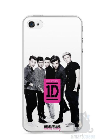 Capa Iphone 4/S One Direction #2
