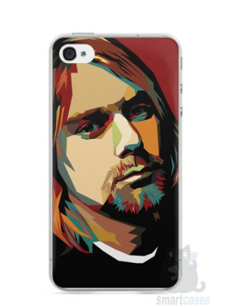 Capa Iphone 4/S Kurt Cobain