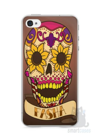 Capa Iphone 4/S Dia dos Mortos #1