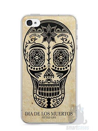 Capa Iphone 4/S Dia dos Mortos #2