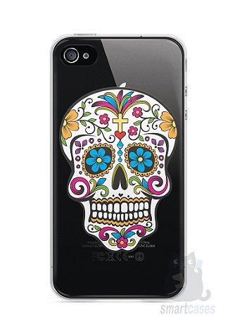 Capa Iphone 4/S Caveira Mexicana
