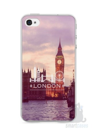 Capa Iphone 4/S Londres #1