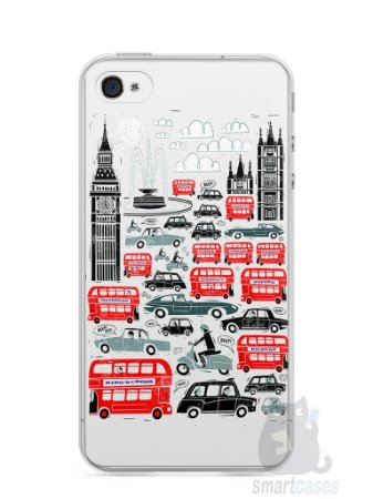 Capa Iphone 4/S Londres #2