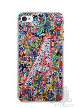 Capa Iphone 4/S The Avengers Comic Books