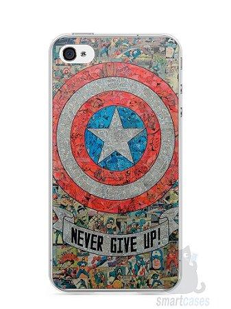 Capa Iphone 4/S Capitão América Comic Books #3